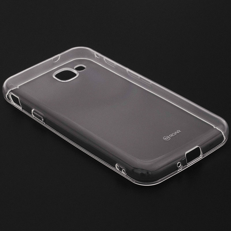 Husa Samsung Galaxy Xcover 4s Roar Colorful Jelly Case - Transparent