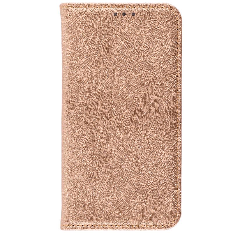 Husa Samsung Galaxy Xcover 4s Flip Mobster Magic Book Auriu