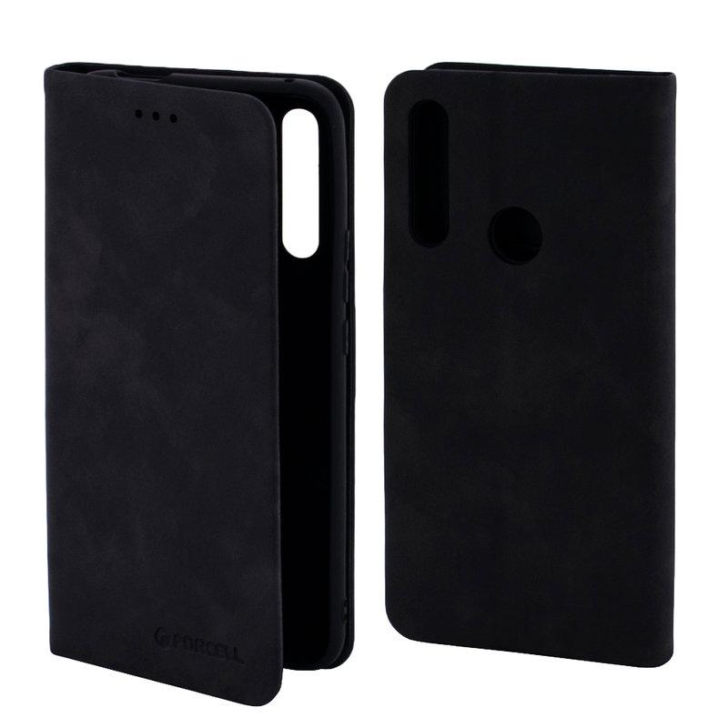 Husa Huawei P Smart Z Forcell Silk Wallet - Black