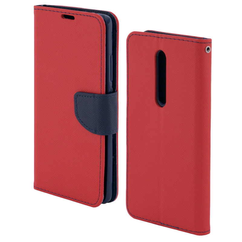 Husa Xiaomi Mi 9T Pro Flip Rosu MyFancy