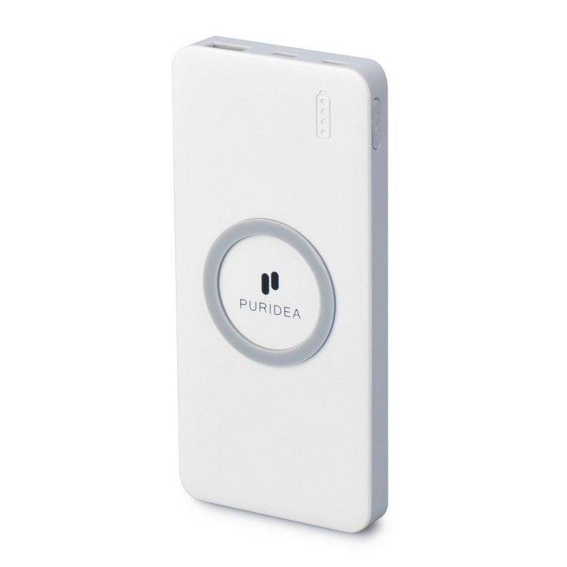 Baterie externa Puridea S20 Wireless Fast Charge 8000mAh - White