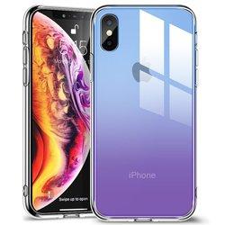 Husa iPhone XS ESR Mimic Glass - Purple