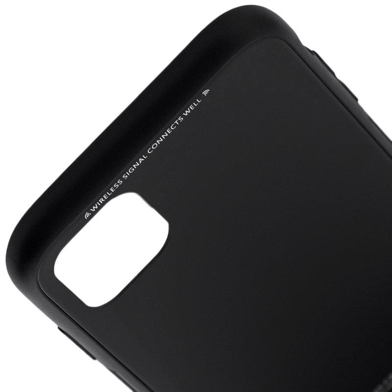 Husa iPhone 11 Glass Series - Negru