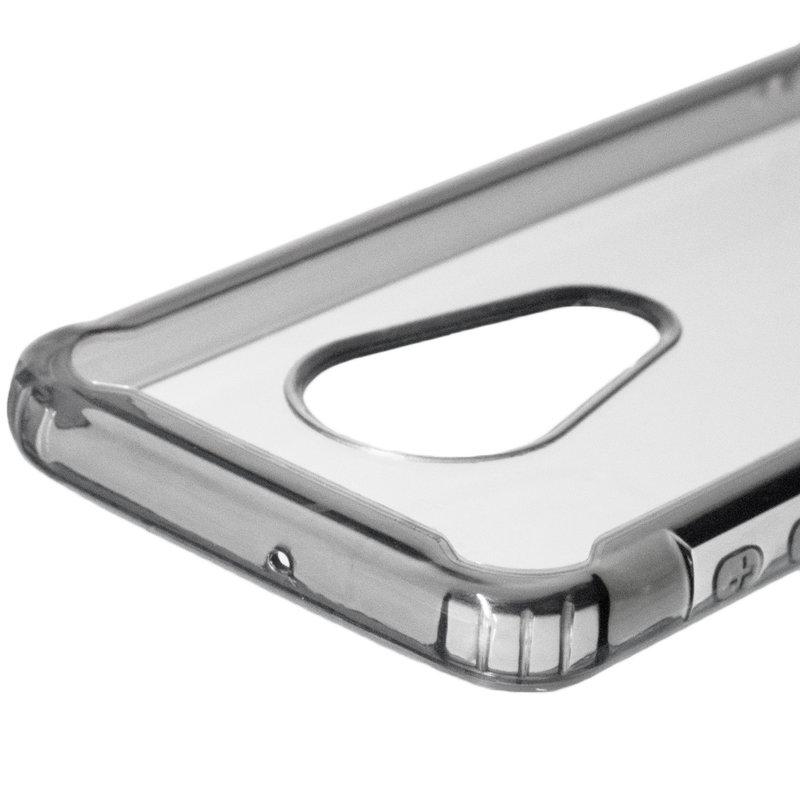 Husa Motorola Moto G7 Plus Hybrid Clear Armor - Negru