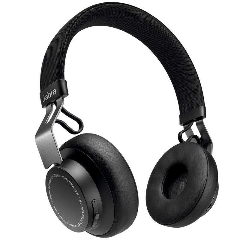 Casti On-Ear Wireless Stereo Jabra Move Style Edition - OTE21 - Titanium Black