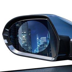 [Pachet 2x] Folie Auto Rezistenta La Ploaie Pentru Oglinda Retrovizoare Baseus - 135 x 95 mm -  SGFY-C02 - Clear