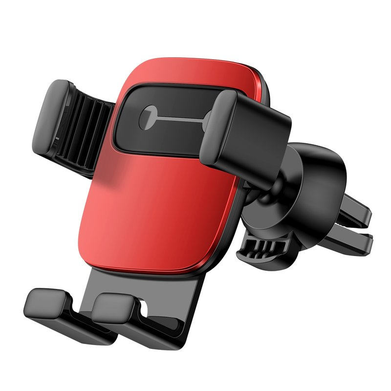 Suport Auto Universal Baseus Cube Gravity Pentru Telefon - SUYL-FK09 - Red/Black