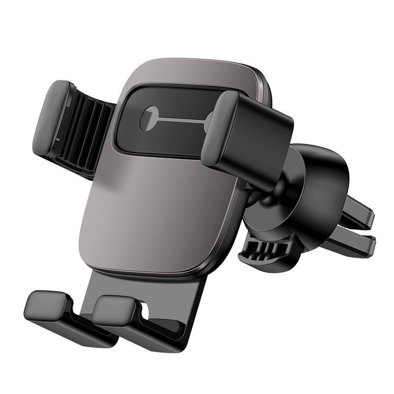 Suport Auto Universal Baseus Cube Gravity Pentru Telefon - SUYL-FK01 - Dark Grey/Black