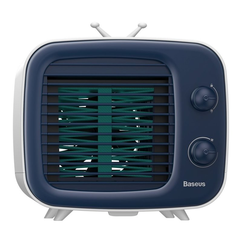 Ventilator Birou Baseus Time Desktop Air Cooler Mobile Refrigeration - CXTM-23 - White/Blue