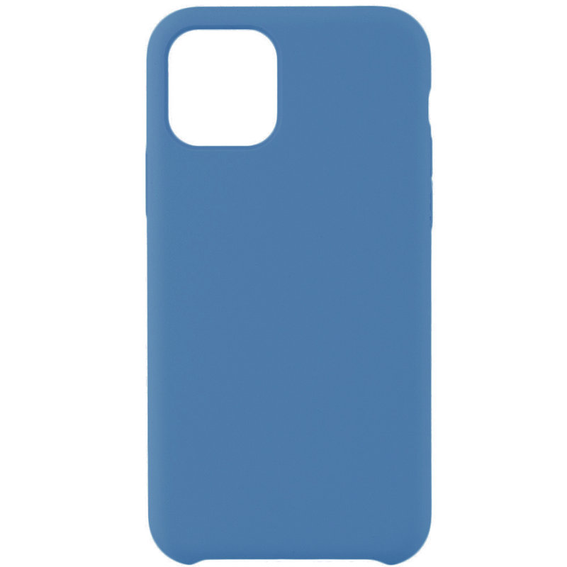 Husa iPhone 11 Pro Max Silicon Soft Touch - Bleu