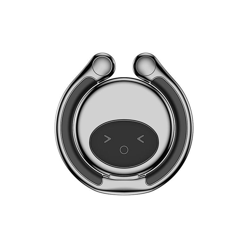 Suport telefon Inel iRing Baseus Elf Ring Bracket -SUYAO-01- Black