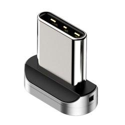 Adaptor Type-C Pentru Cablu Magnetic Baseus Zinc Plug - CATXC-E - Silver