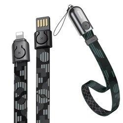 Cablu De Date Baseus Golden Collar USB For Lightning 2.4A 85cm - CALJL-BP1 - Pop Black