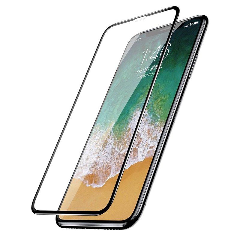 Folie Sticla iPhone XS Baseus Rigid-Edge Arc-Surface - SGAPIPHX-KE01 - Clear