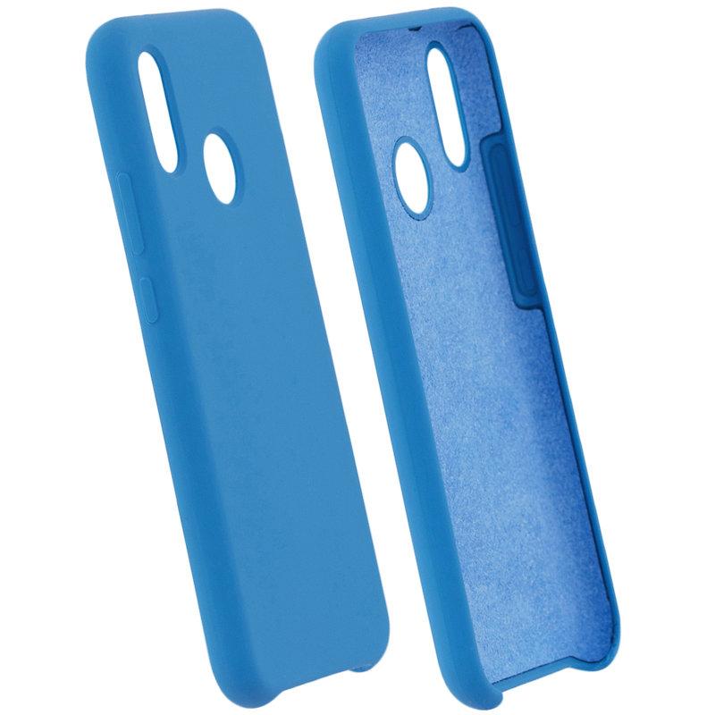 Husa Huawei P20 Lite Silicon Soft Touch - Bleu