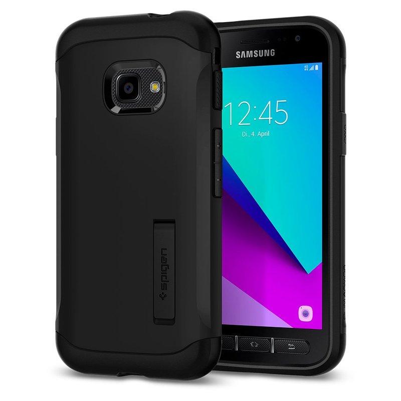 Husa Spigen Samsung Galaxy Xcover 4s Slim Armor - Black