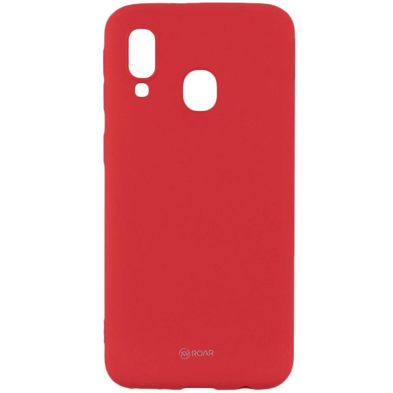 Husa Samsung Galaxy A40 Roar Colorful Jelly Case - Portocaliu Mat