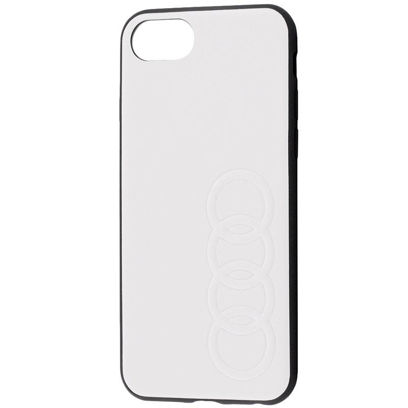 Bumper iPhone 7 Audi - Alb TPUPCIP8-TT/D1-WE