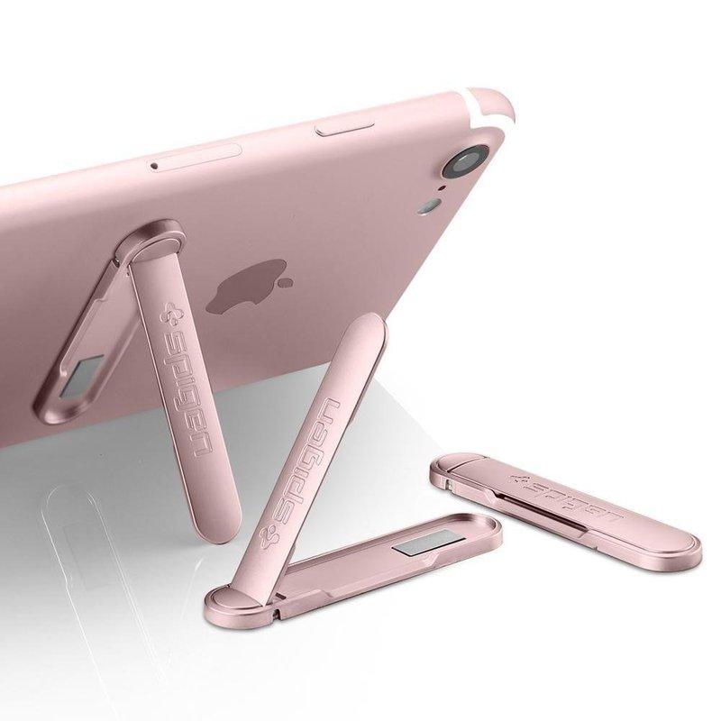 Kickstand Pentru Telefon Spigen U100 Universal Metal - 000EM21073 - Rose Gold