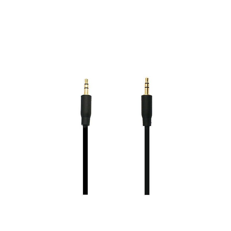 Cablu Audio Auxiliar Jack to Jack 1M - 5900217000075 - Black