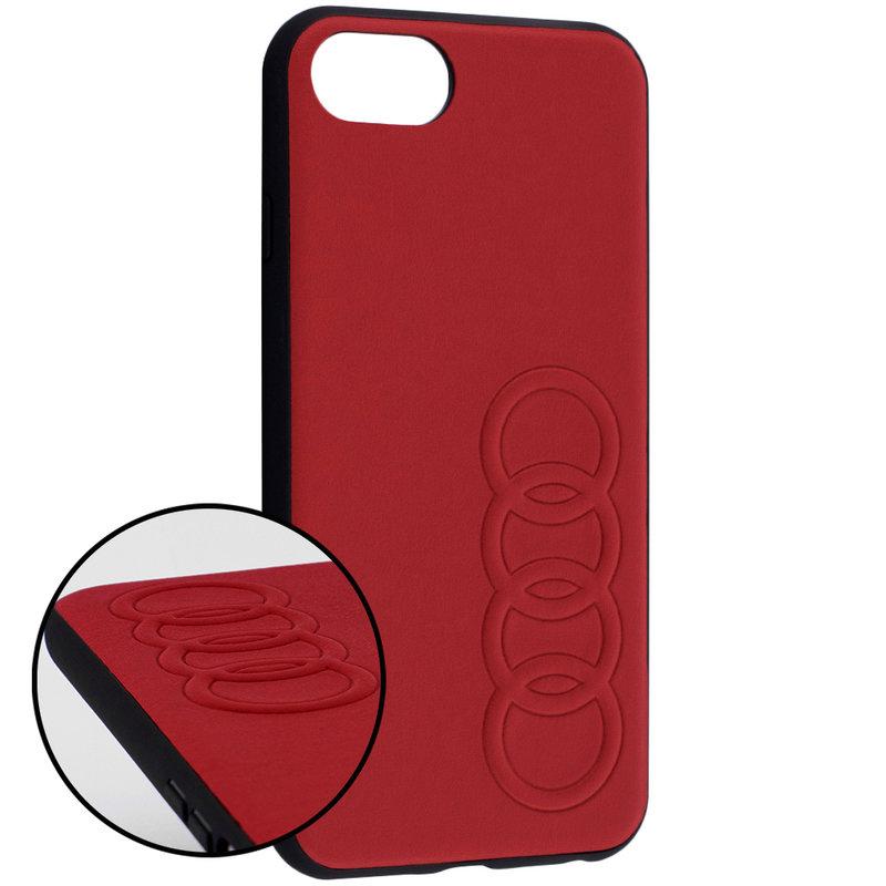 Bumper iPhone 7 Audi - Rosu TPUPCIP8-TT/D1-RD