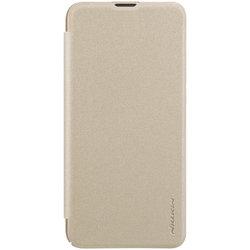 Husa Huawei Honor V20 NILLKIN Sparkle Flip Auriu