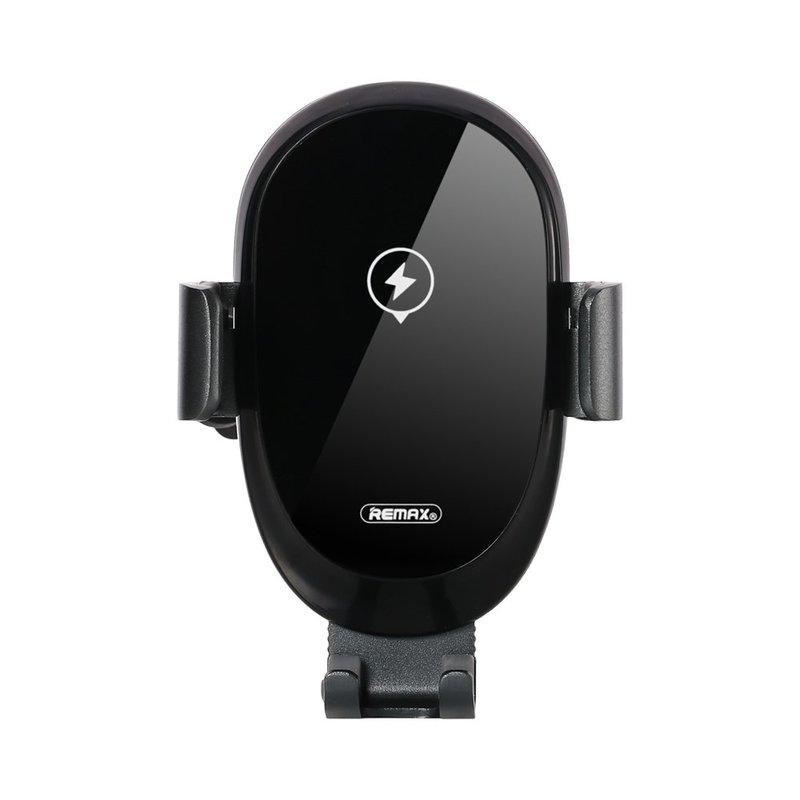 Suport Auto Cu Functie De Incarcare Wireless Remax RM-C39 Smart Electric Auto Lock - Black