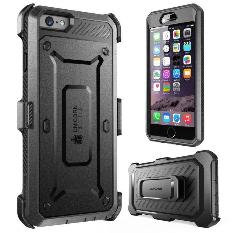 Husa Telefon iPhone 6 / 6S Supcase Unicorn Beetle Pro - Black
