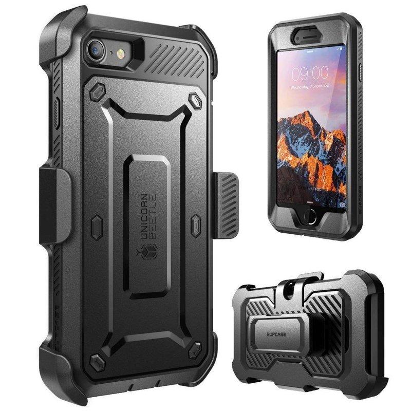 Husa Telefon iPhone 8 Supcase Unicorn Beetle Pro - Black