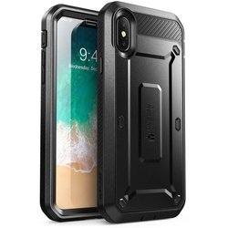 Husa Telefon iPhone X, iPhone 10 Supcase Unicorn Beetle Pro - Black