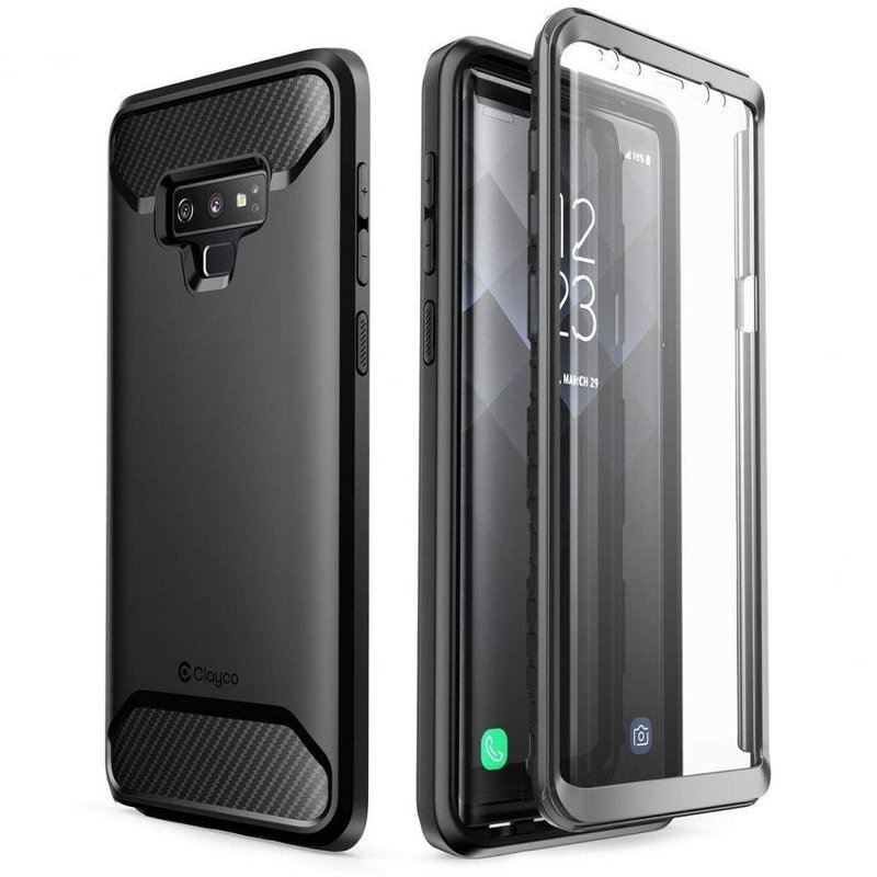 Husa Telefon Samsung Galaxy Note 9 Supcase Clayco Xenon - Black