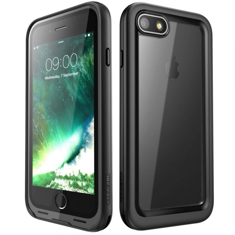 Husa Telefon iPhone 7 Supcase i-Blason Aegis Green Case - Black