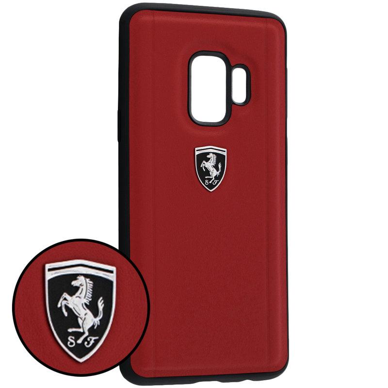 Bumper Samsung Galaxy S9 Ferrari Heritage - Rosu FEHLEHCS9RE