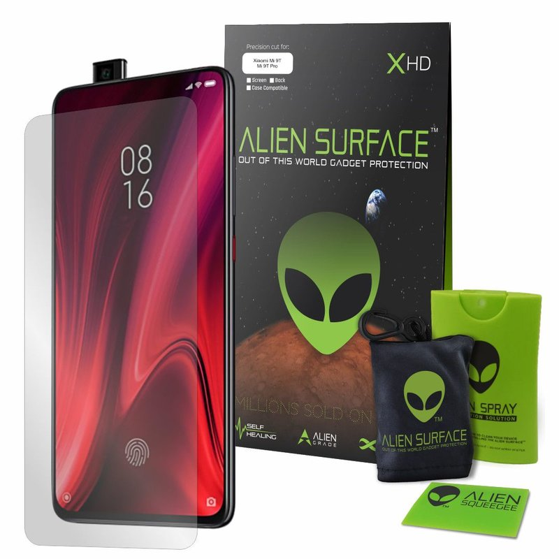 Folie Regenerabila Xiaomi Mi 9T Pro Alien Surface XHD, Case Friendly - Clear