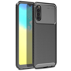 Husa Sony Xperia 20 Mobster Carbon Skin Negru