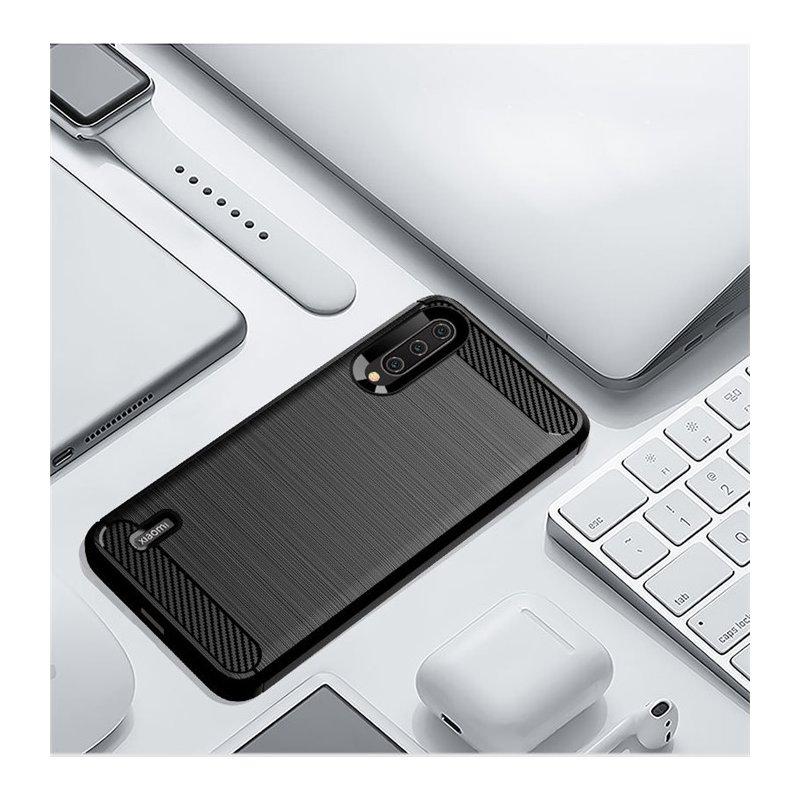 Husa Xiaomi Mi A3 / Mi CC9e TPU Carbon Negru