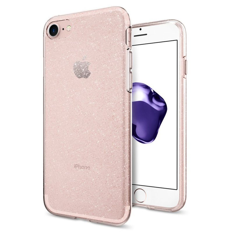 Bumper iPhone 11 Pro Max Spigen Liquid Crystal Rose Quartz
