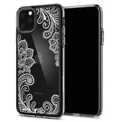 Husa Telefon iPhone 11 Ciel by CYRILL de la Spigen - 076CS27214 - Cecile White Mandala