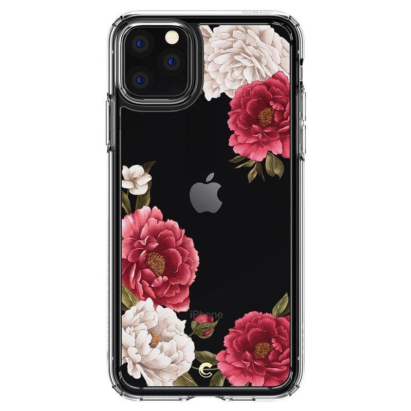 Husa Telefon iPhone 11 Pro Max Ciel by CYRILL de la Spigen - 075CS27168 - Cecile Red Floral