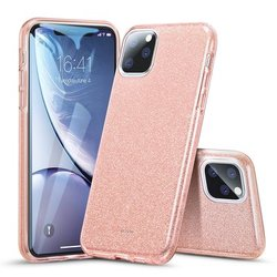 Husa iPhone 11 ESR MakeUp Glitter - Pink