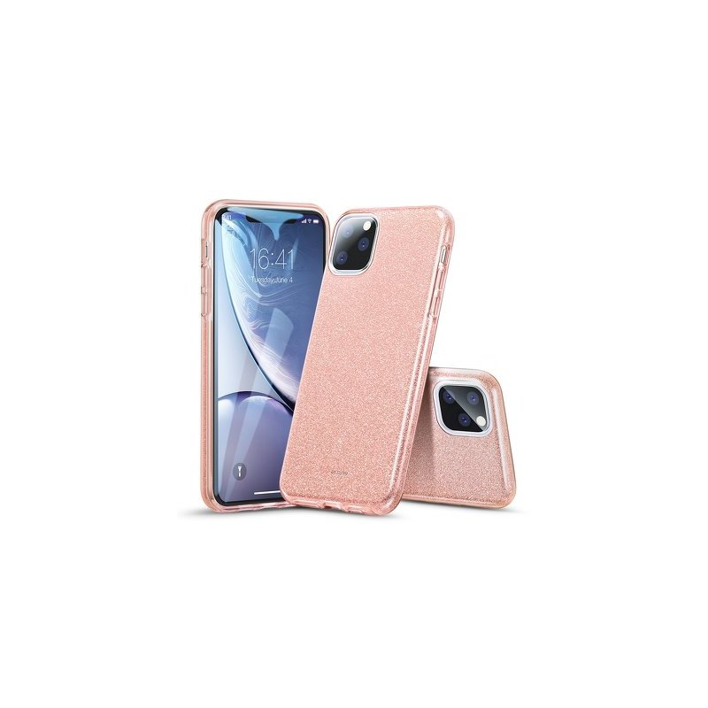 Husa iPhone 11 Pro Max ESR MakeUp Glitter - Pink
