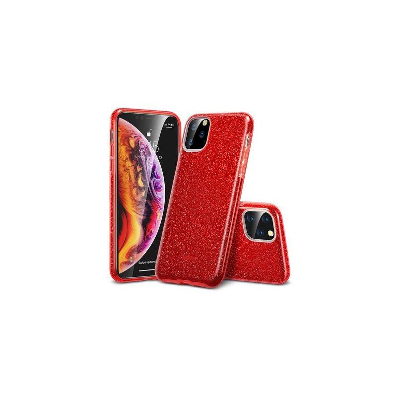 Husa iPhone 11 Pro Max ESR MakeUp Glitter - Red