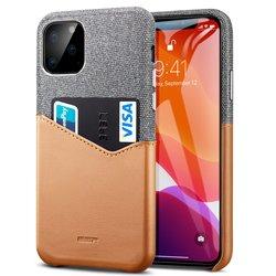 Husa iPhone 11 Pro Max ESR Metro Wallet - Maro