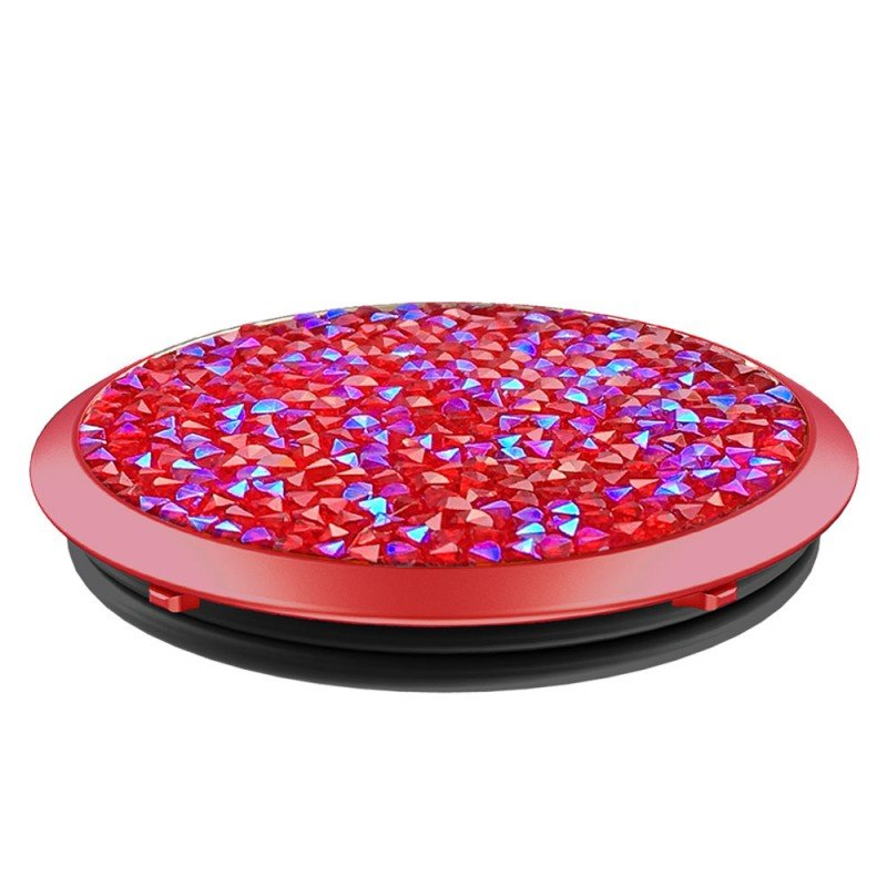 Popsockets Original, Suport Cu Functii Multiple - Siam Red Crytals