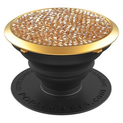 Popsockets Original, Suport Cu Functii Multiple - Golden Shadow Crytals
