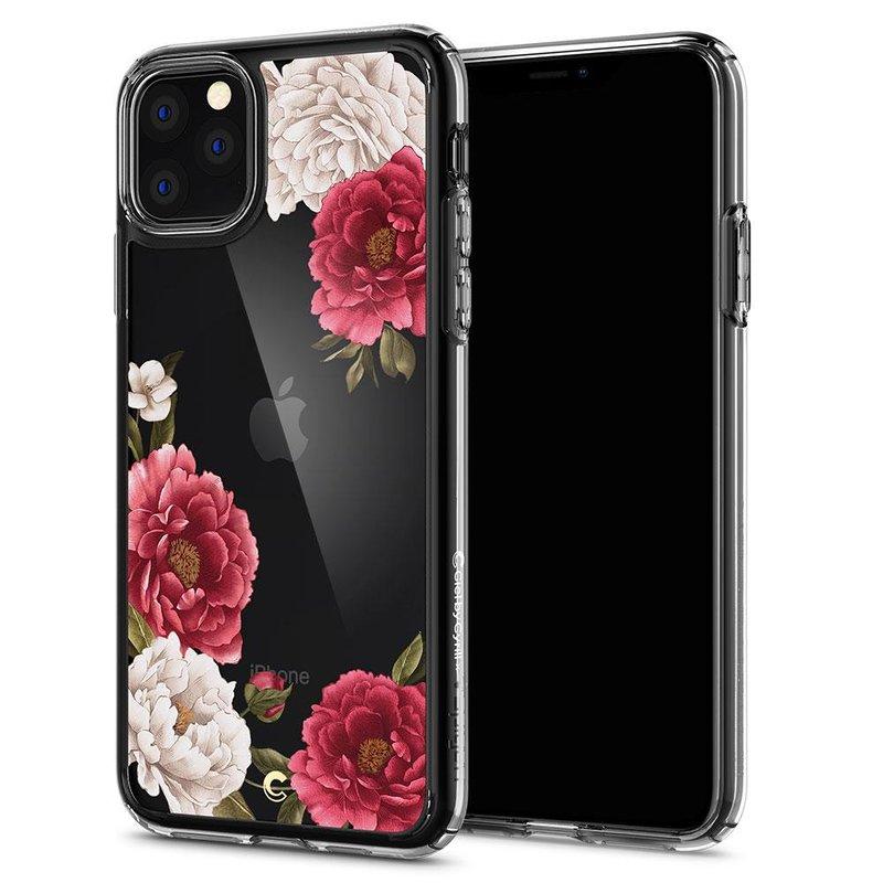 Husa Telefon iPhone 11 Ciel by CYRILL de la Spigen - 076CS27215 - Cecile Red Floral