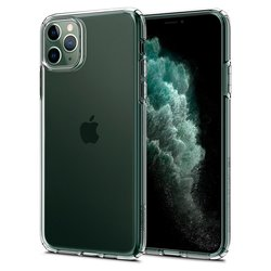 Bumper iPhone 11 Pro Max Spigen Liquid Crystal - Clear