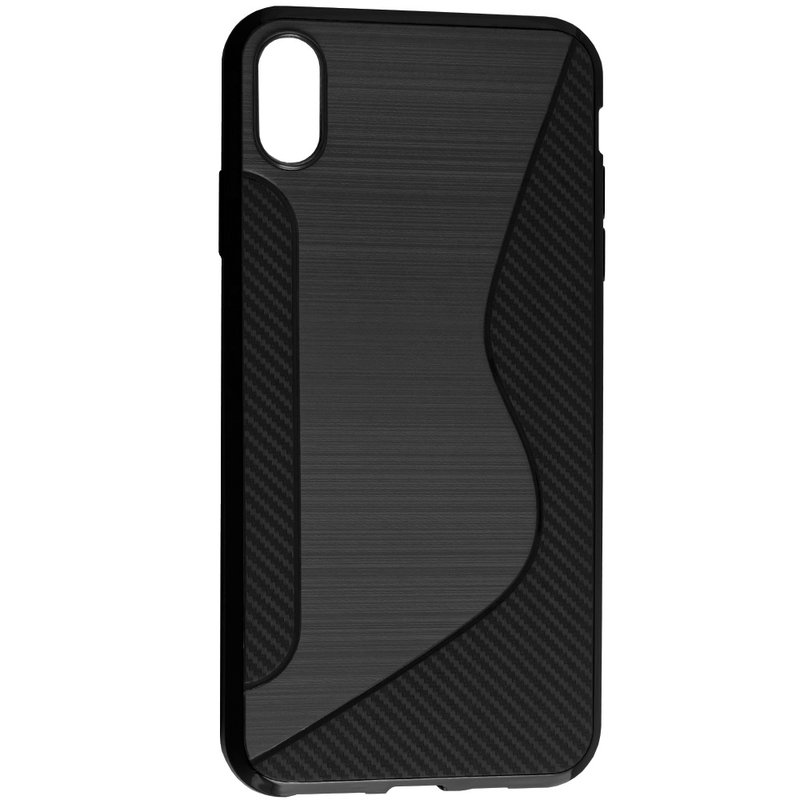 Husa iPhone XS Max Mobster S-Line Legacy - Negru