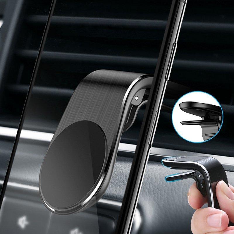 Suport Auto Pentru Grila De Ventilatie Magnetic F3 CH-02 - 7426825373892 - Black