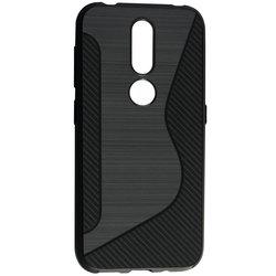 Husa Nokia 4.2 Mobster S-Line Legacy - Negru